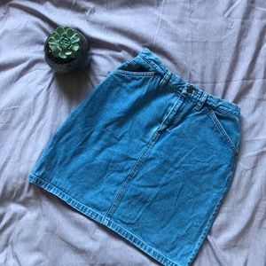 Vintage Jean Skirt 👖